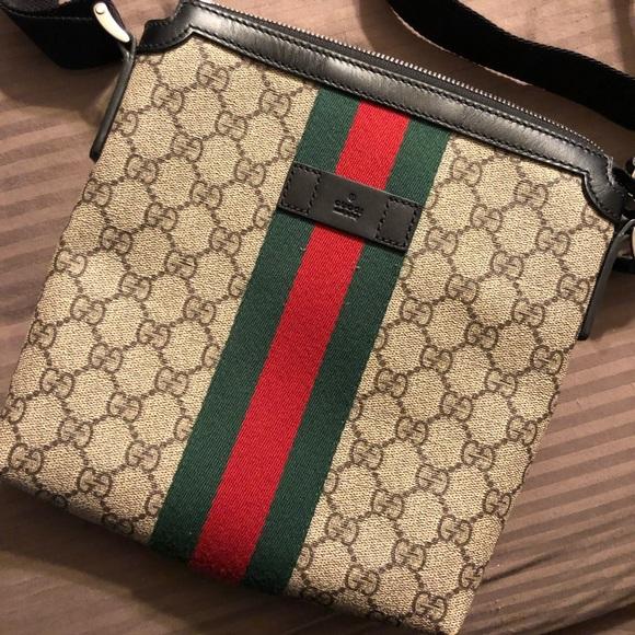 425364d399b9bc Gucci Bags | Web Gg Supreme Messenger | Poshmark
